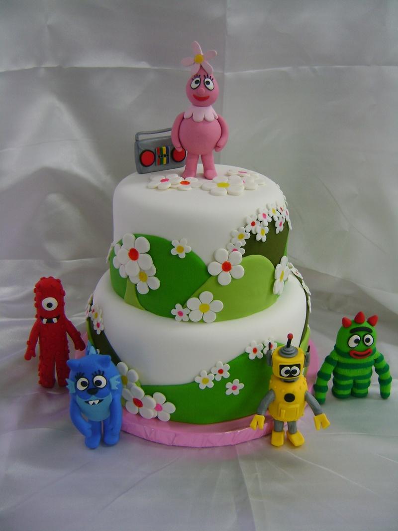 Yo Gabba Gabba Specialty Cakes and Desserts