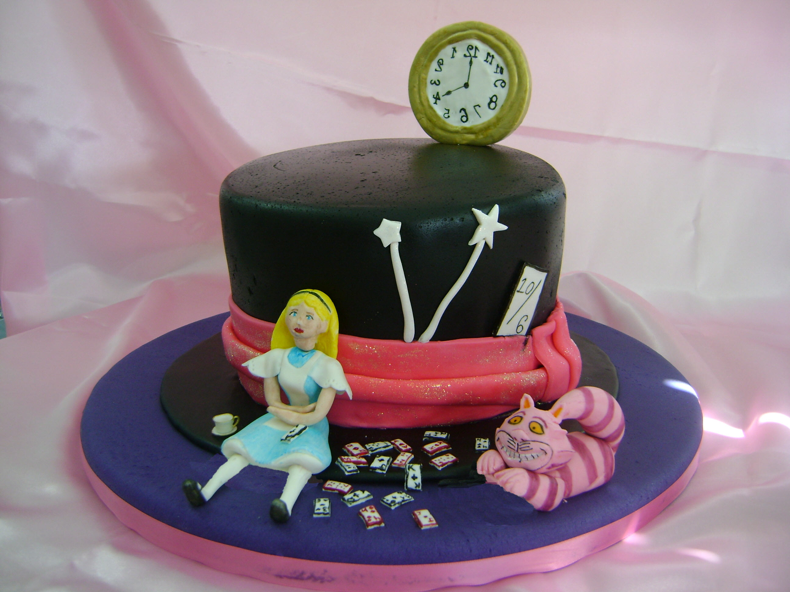 Cat N The Hat Birthday Cake