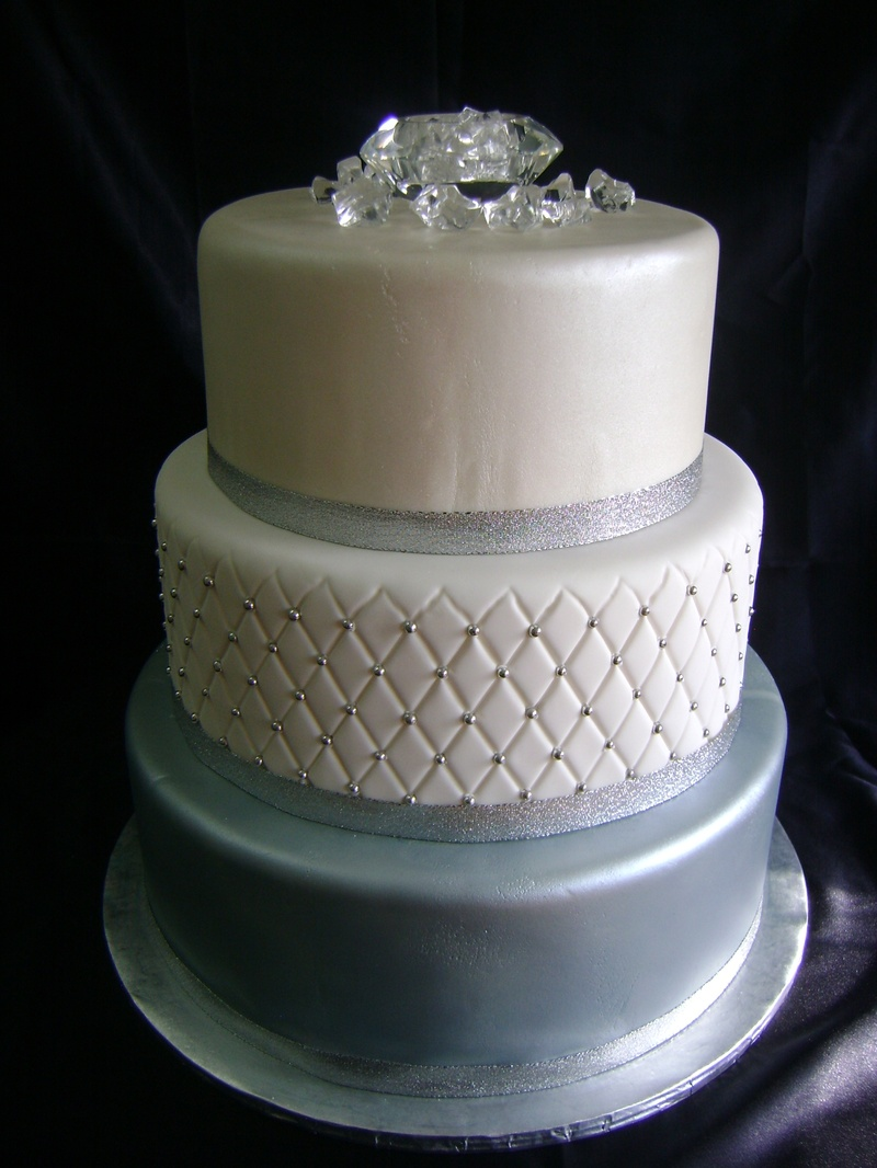 How To Make Sugar Diamonds For Cakes